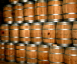 oak wine barrels. used cognac barrels french oak wine